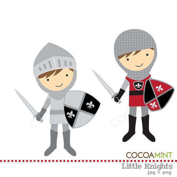 Knight clipart little boy Clip Clip Etsy Little Knights