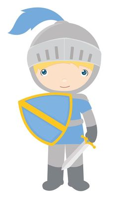 Knight clipart little boy Vector PRÍNCIPES CLIPART Royalty free