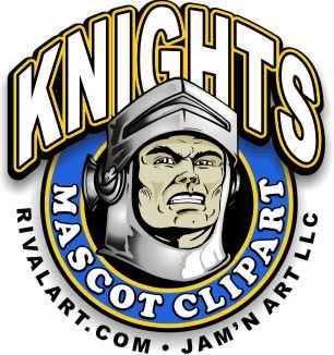 Knight clipart mascot Clipart com on Rivalart Knight