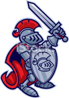 Knight clipart mascot Art Clip free Free Art