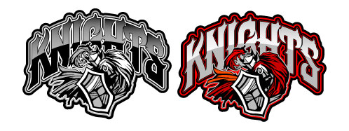 Knight clipart mascot  Knight logo Clipart and