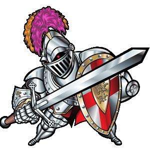 Knight clipart mascot Clipart – knights Gclipart com