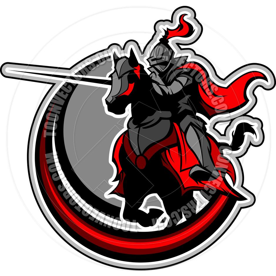 Knight clipart mascot Knights Clipart on mascot Free