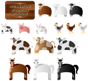 Knight clipart medieval farmer Simple Download Animals Farm Clipart