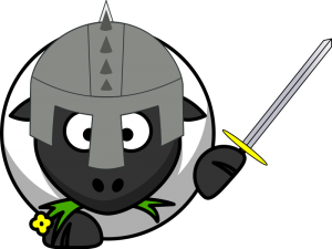 Knight clipart medieval farmer Knight Medieval Sheep Clip Download