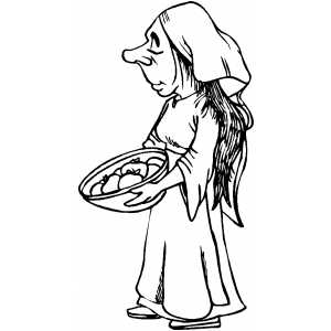Maiden clipart medieval serf Poor Clip PagesKnightsClip Coloring page