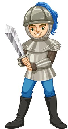 Knight clipart medieval person – to Castle Or Plain