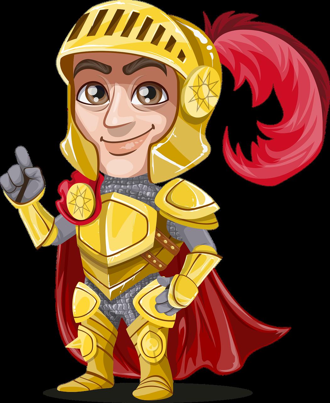 Knight clipart medieval person Art Knight Knight Art Clip