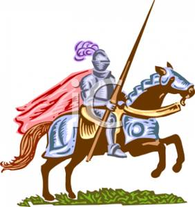 Knight clipart medieval soldier Picture A Free Warhorse Royalty