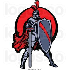 Knight clipart medieval soldier Knight 83449822 of a vector