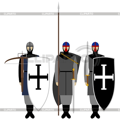 Knight clipart medieval soldier CLIPARTO EPS Vektor Photos Knights