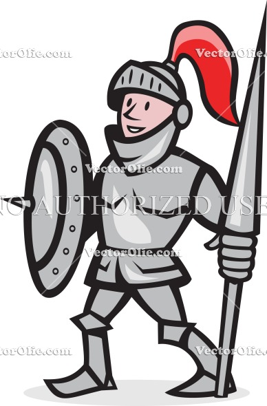 Knight clipart medieval soldier Free fighter graphics cartoon cartoons