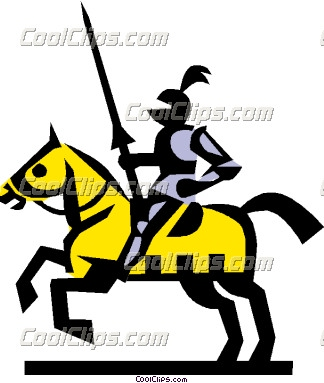 Knight clipart medieval time Medieval times knights Knights Art
