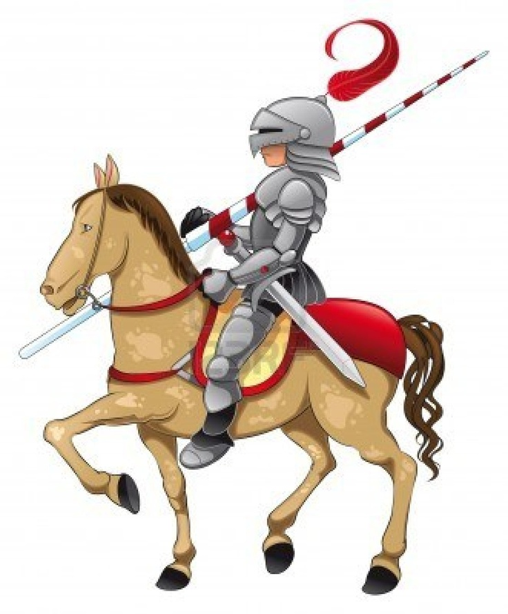 Knight clipart medieval time Medieval on knight cartoon best