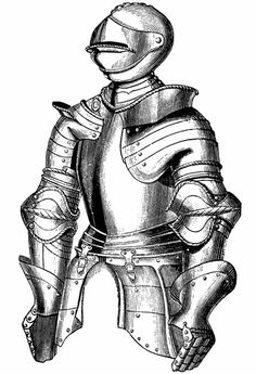 Knight clipart medieval time Coloring and Welcome in to