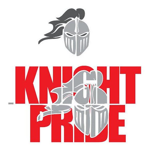Knight clipart pride Knockout Pride SVG SCAL DXF