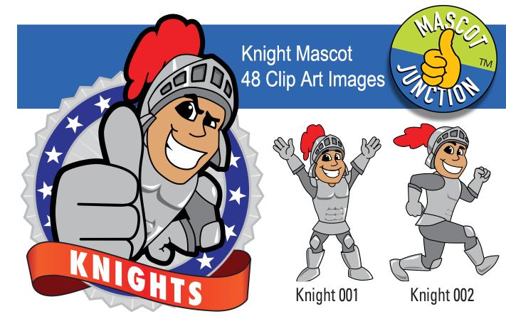Knight clipart pride Clip Mascot Images Vector School