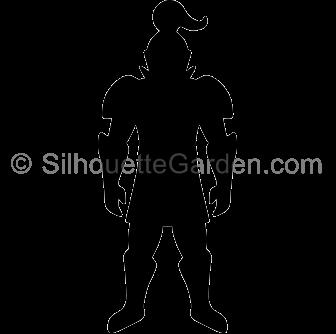 Knight clipart silhouette Silhouette Silhouette Knight