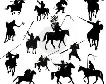 Knight clipart silhouette Download clipart knight Silhouettes Clipart