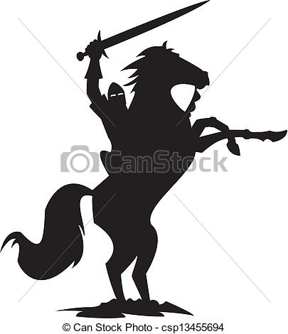 Knight clipart silhouette Silhouette knight knight Illustration black