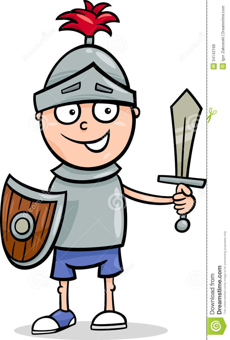 Knight clipart simple cartoon  Boy Photos Image Free