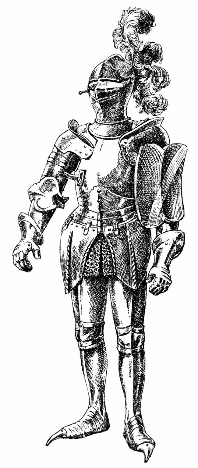Knight clipart suit armor OF [New Haunted NOD: Monster]