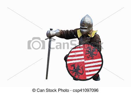 Knight clipart swordsman Stock medieval Stock of medieval