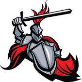 Knight clipart swordsman Art Defender the GoGraph Royalty