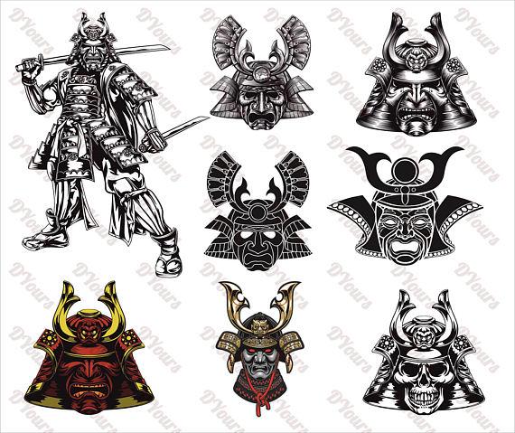 Knight clipart swordsman Knight Japan DYours Vector Samurai