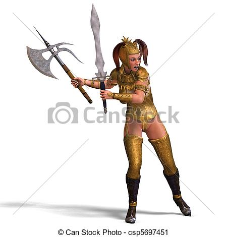 Women clipart knight White attractive guard shadow and