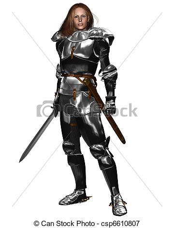 Women clipart knight Woman of Shining in Female