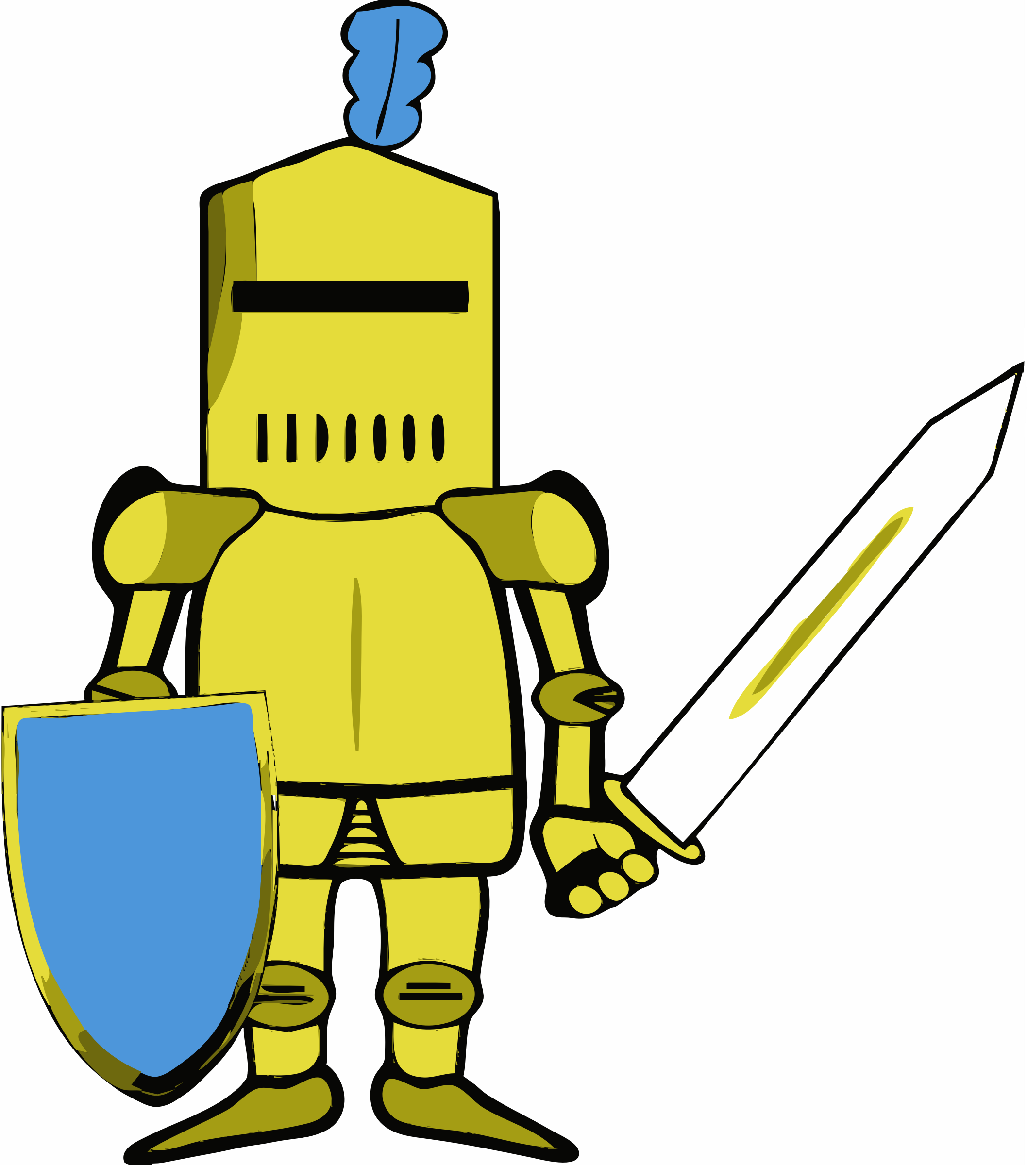 Yellow clipart knight Shields Clipart knights edited princesses