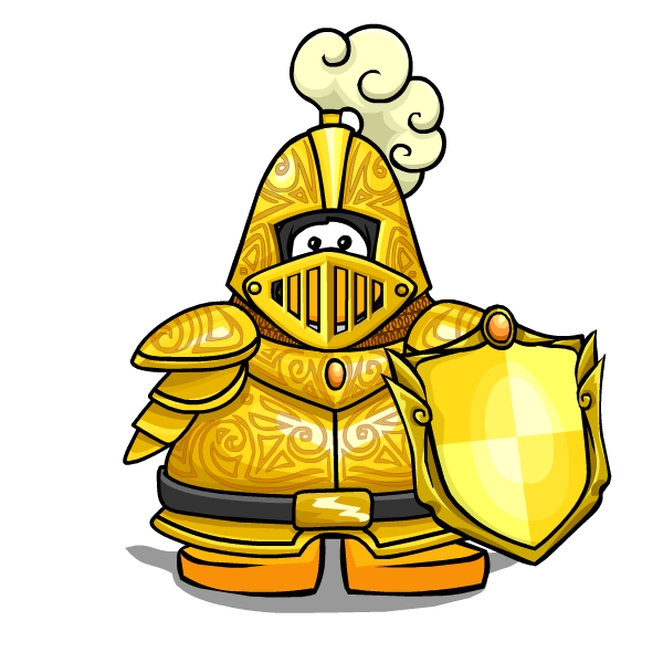 Yellow clipart knight Wiki Fandom Knights Penguin powered