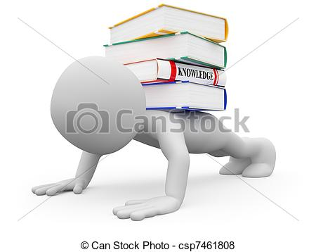 Knowledge clipart Ups  Man knowledge 301