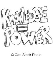 Knowledge clipart black and white Vectors Background Knowledge Equals Illustration