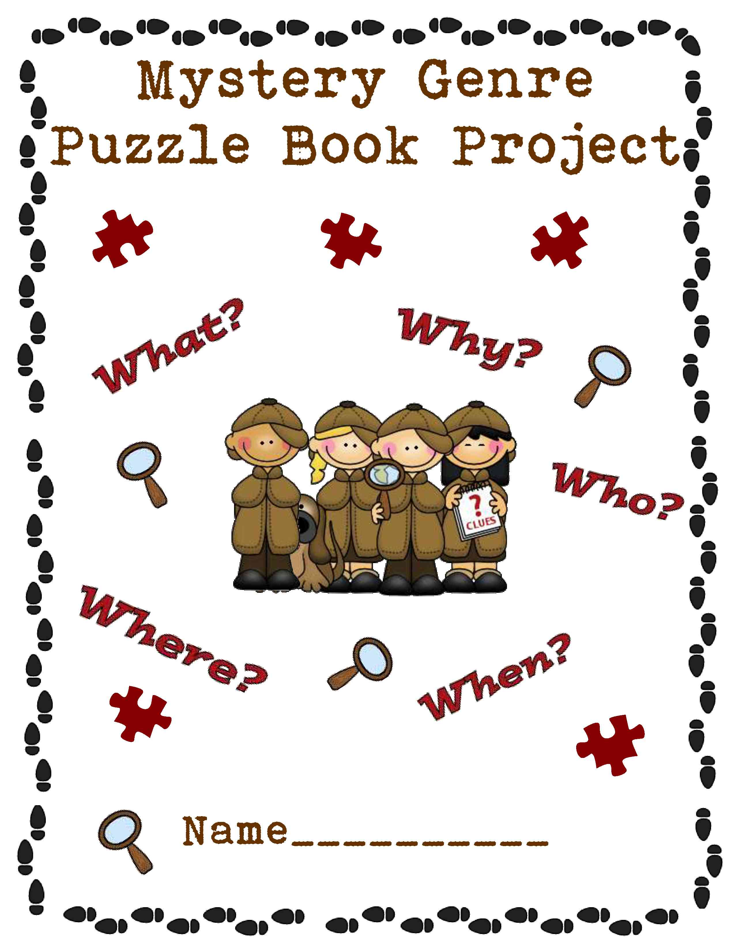 Mystery clipart mystery genre #14