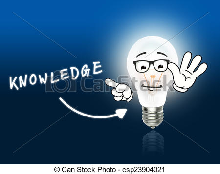 Knowledge clipart bulb Knowledge Art Background blue Light
