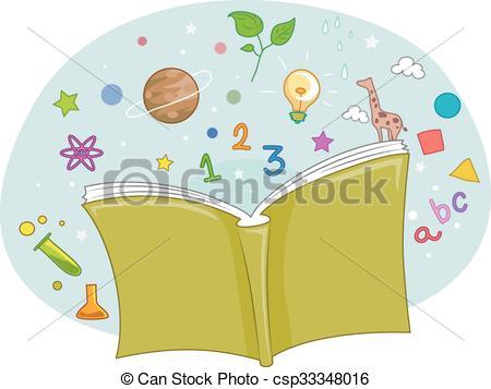 Knowledge clipart cartoon Book Art  Illustration Clip