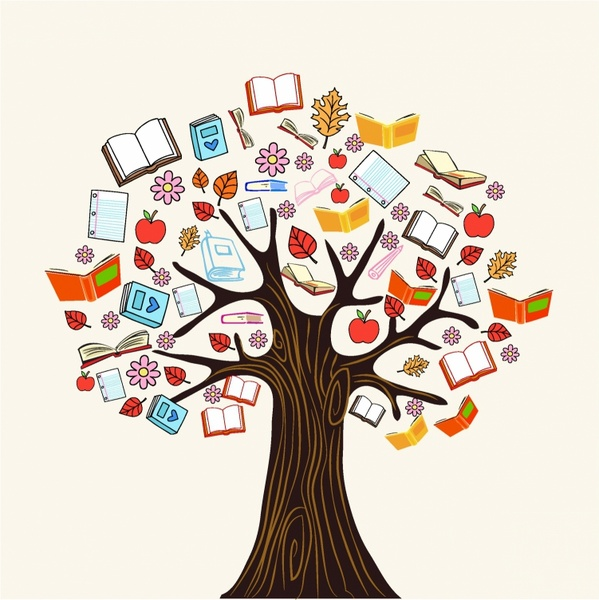 Knowledge clipart cute book Free knowledge (4 reading tree