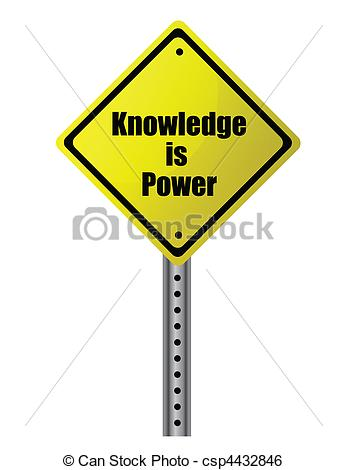 Knowledge clipart graphic File Clip is power Vector