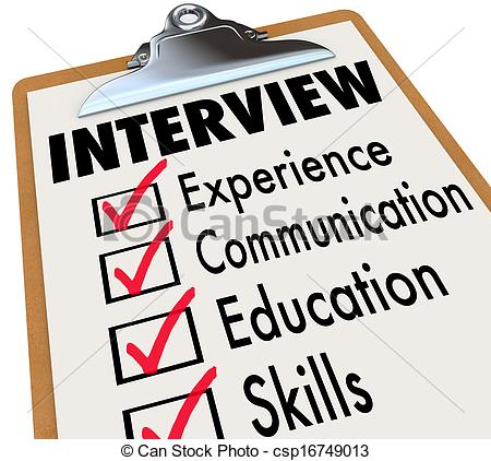 Business clipart job interview  Interview Interview Stock Job