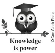 Knowledge clipart knowledgeable Isolated  Vector Clipart clip