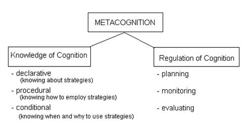 Knowledge clipart metacognition Distinguishes Metacognition who trait Metacognitive