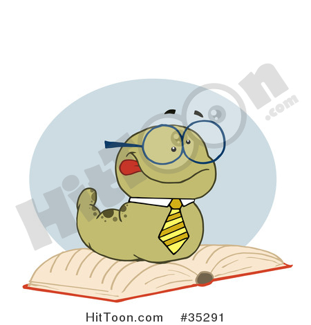 Worm clipart smart #2