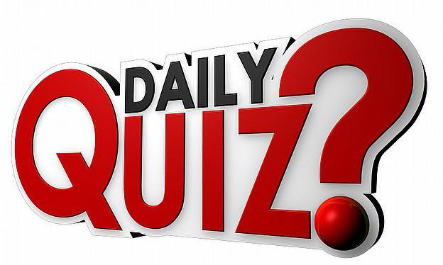Club clipart general knowledge QUIZ: TEST quiz IN 4