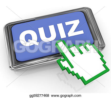Knowledge clipart quiz time GoGraph Gold button Free Royalty