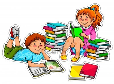 Club clipart children's book Babies Love Reading the Books