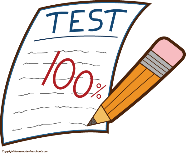 Knowledge clipart school testing Test Clipart Panda Images Clip