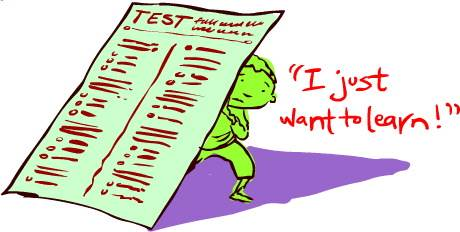 Knowledge clipart school testing Not focus My be Testing