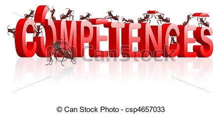 Knowledge clipart technical skill Of knowledge building competences Illustration